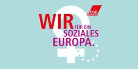 DGB-Logo zum Internationalen Frauentag 2019
